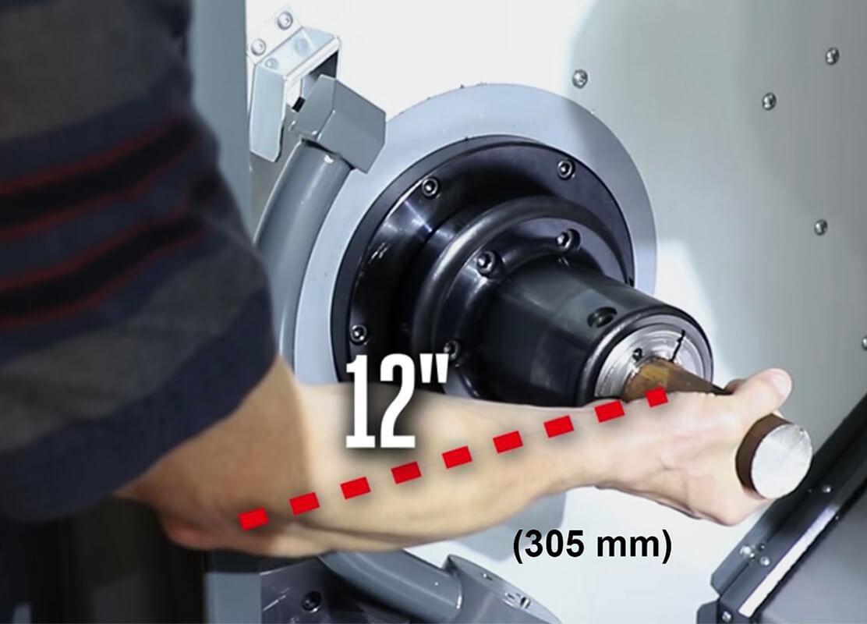 geliştirilmiş parça yükleme ergonomisi