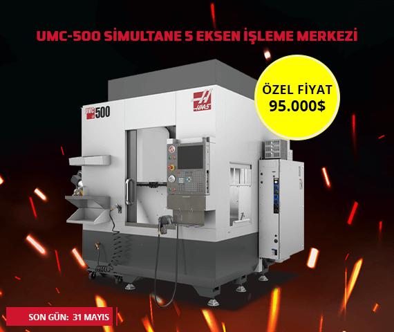 umc-500 5 eksen cnc makinası kampanyası